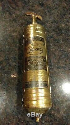 Vintage Pyrene Fire Extinguisher