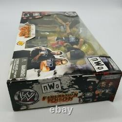 WWE Jakks NWO Federation Poison Scott Hall Kevin Nash Sixx XPac Brand New in Box