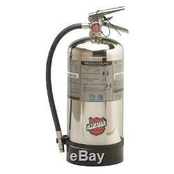 Wet Chemical Fire Extinguisher with 1.6 gal. Capacity and 51 to 59 sec. Discharg